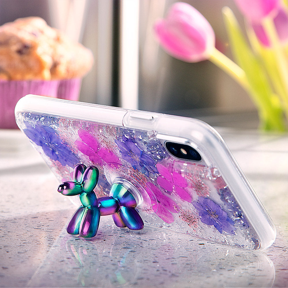 detailed look e62f1 486ed Case-Mate - Stand Ups Balloon Dog Device Stand and Grip - Iridescent