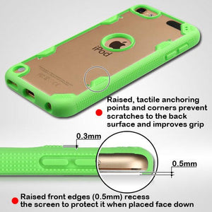 ab3ca0d6ea Apple iPod Touch 6th Generation MyBat FreeStyle Challenger Hybrid Protector  Cover (w/ Package)