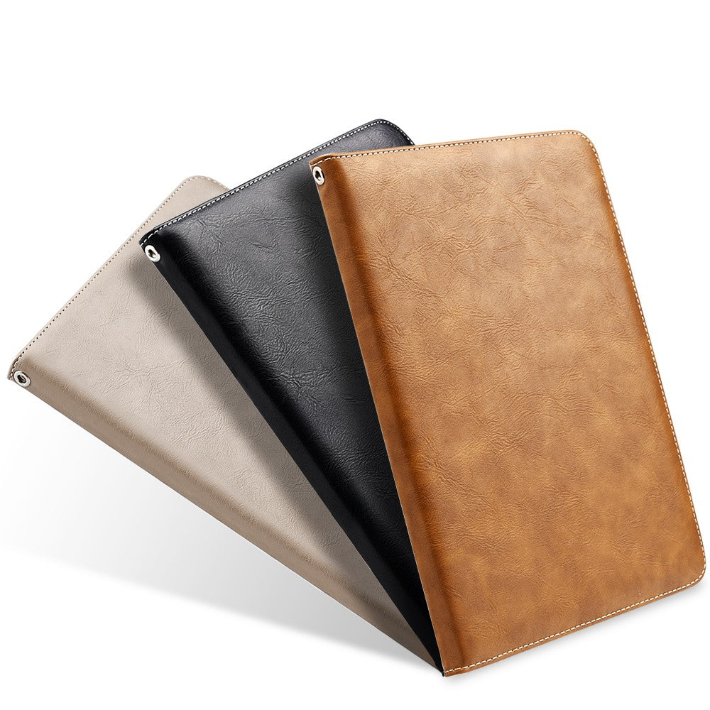 factory authentic 4eeed fa4b5 Apple iPad Pro 9.7 Luxmo Work Leather Folio Case w/ Stand and Strap ...