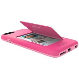 sports shoes 9bdca a6991 Incipio Stowaway Credit Card Case w/ Kickstand for Apple iPhone 6 Plus /  iPhone 6S Plus - Pink / Light Pink