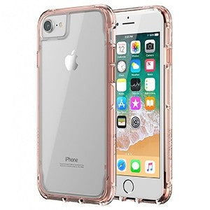best loved 2ee5e edd1e Griffin Survivor Clear Case for Apple iPhone 6 / 6S / 7 / 8 - Rose Gold -  Retail Packaged