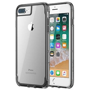 meet e7024 4b156 Griffin Survivor Clear Case for Apple iPhone 6 Plus / 6S Plus / 7 Plus / 8  Plus - Black / Smoke / Clear - Retail Packaged