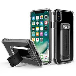 promo code 90772 111b9 ScoocH Wingman Case for Apple iPhone X - Clear - Retail Packaged