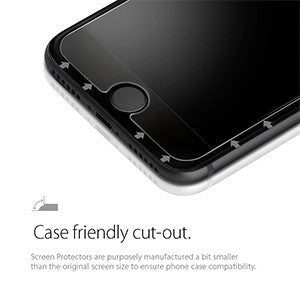 the best attitude bc2b9 3157d Spigen GLAS.tr Slim HD Tempered Glass Screen Protector for Apple iPhone 6 /  6S / 7 / 8 - Retail Packaged