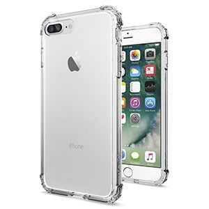 finest selection 0d9c0 40944 Spigen Crystal Shell Case for Apple iPhone 7 Plus / 8 Plus - Crystal Clear  - Retail Packaged