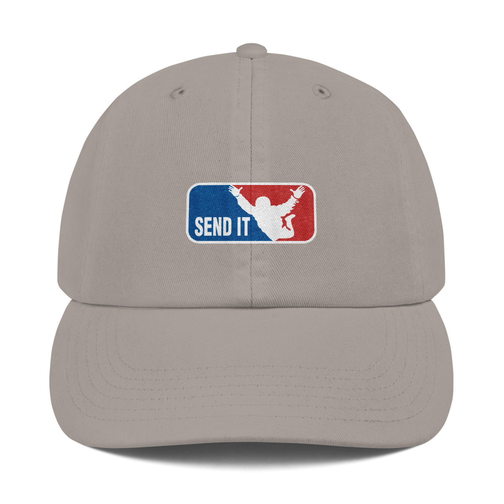 Champion x Send It Dad Cap