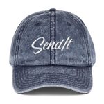 Vintage Send It Dad Cap