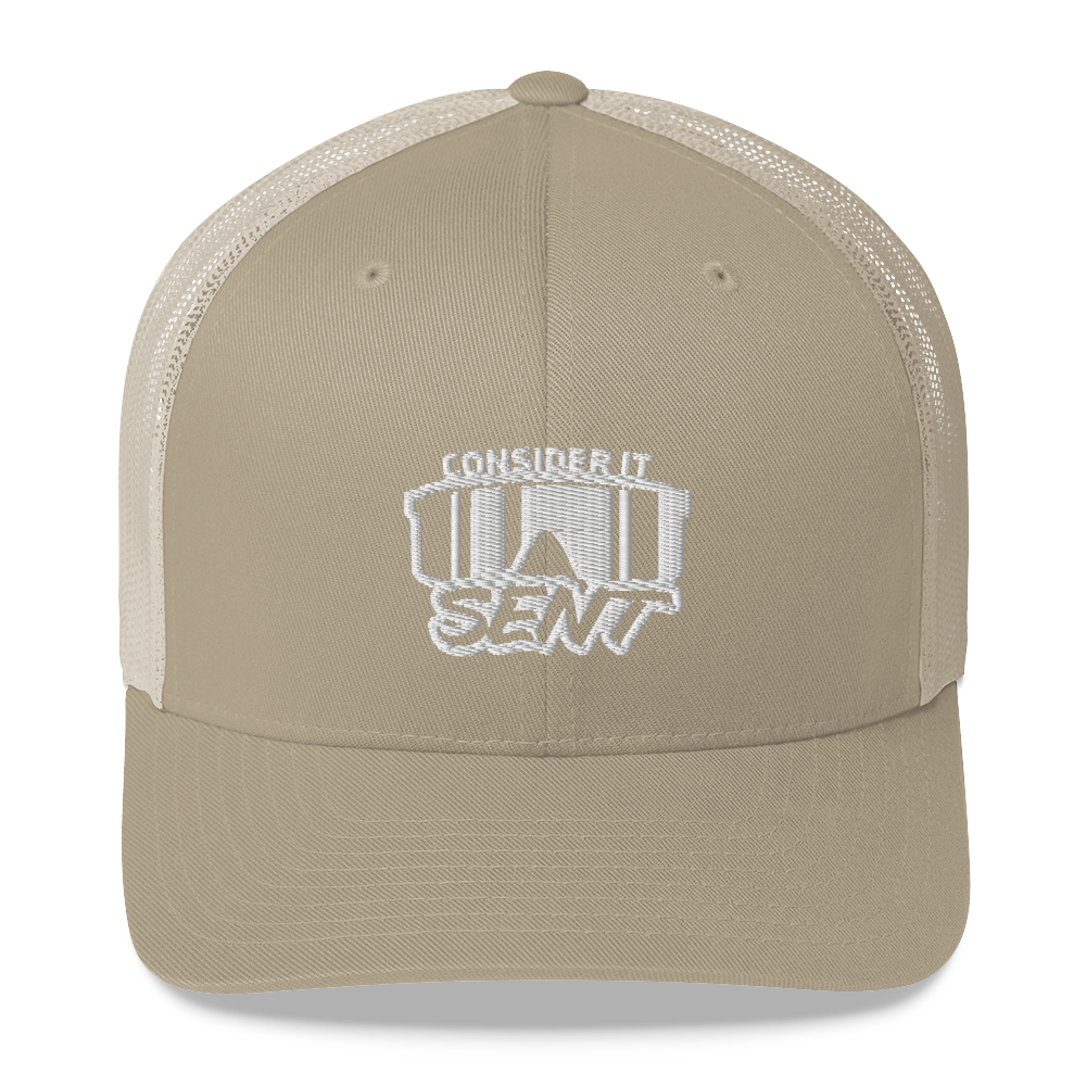 Consider It Sent Trucker Cap