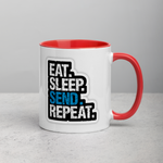 Eat Sleep Send Repeat Mug