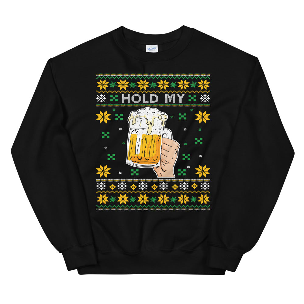 Hold My Beer Xmas Sweater