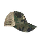 TRADITIONAL CAMO TRUCKER HAT