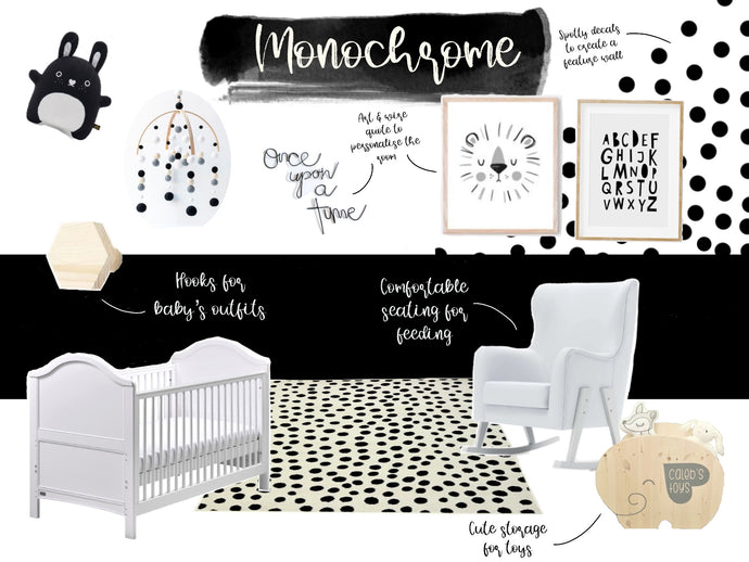 How to style a white nursery: Colours