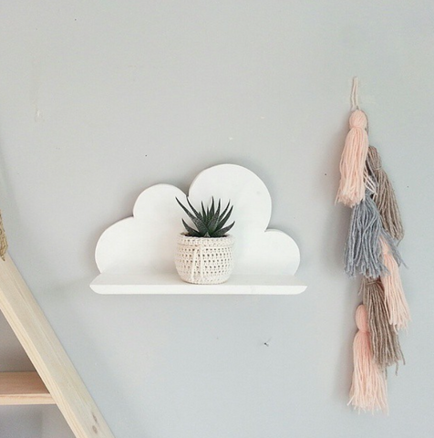 Styling a cloud shelf for an office