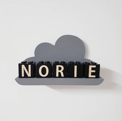 Personalising a cloud shelf with colour