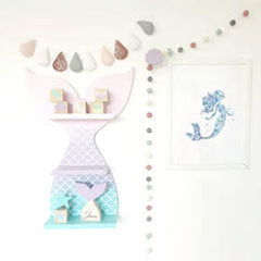 Mermaid shelf