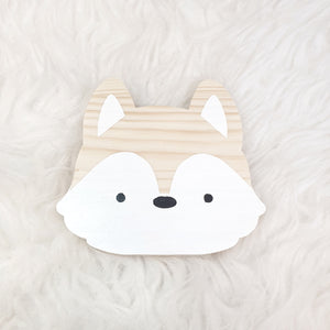 Fox shelf sitter