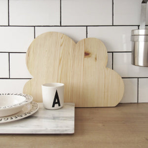 Cloud chopping board