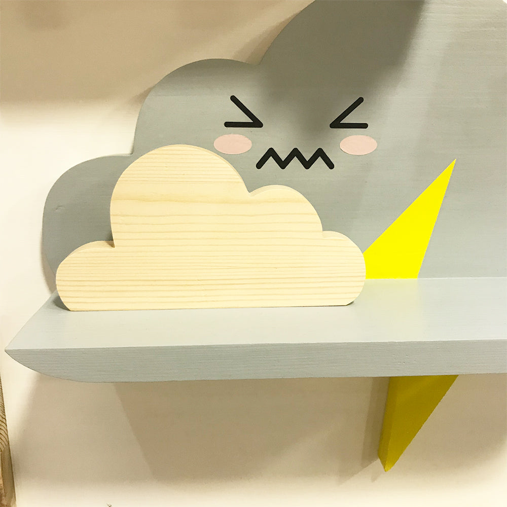 Cloud shelf sitter