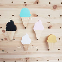 Swirly ice cream wall hook