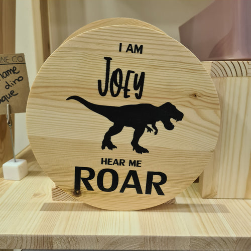 Hear Me Roar Plaque