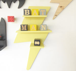 Lightning Bolt Shelf