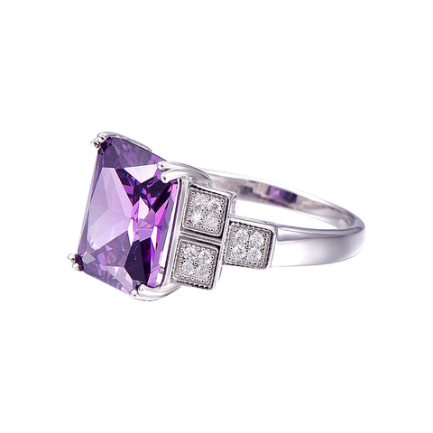 Image of The Bespoke Ring in Amethyst