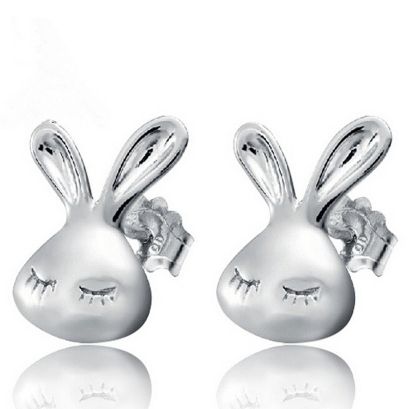 Rabbit Stud Earrings