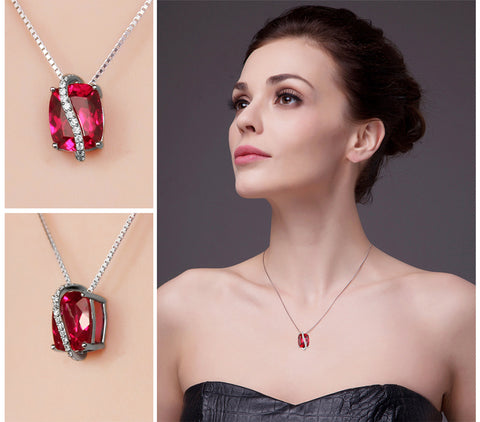 It's a Wrap II (pendant) in Ruby