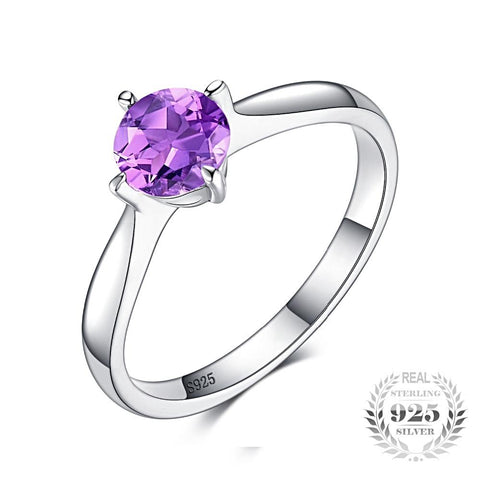 Stylish Luxury Amethyst Ring For Women Born In February