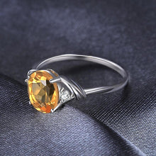 1.8ct Oval Cut Citrine Ring for Women Born in November