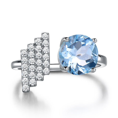 The Regal Ring in Topaz