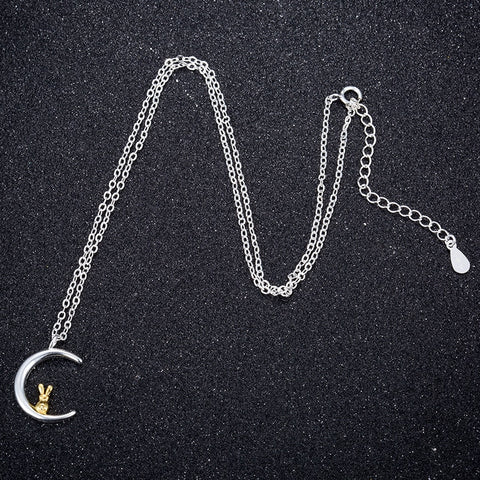 Image of Moon Rabbit Necklace