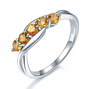 The Fifth Sense II Ring in Citrine