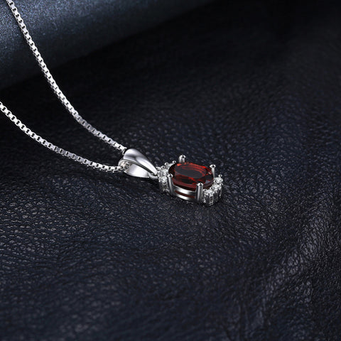 Image of The Trendy Pendant in Ruby