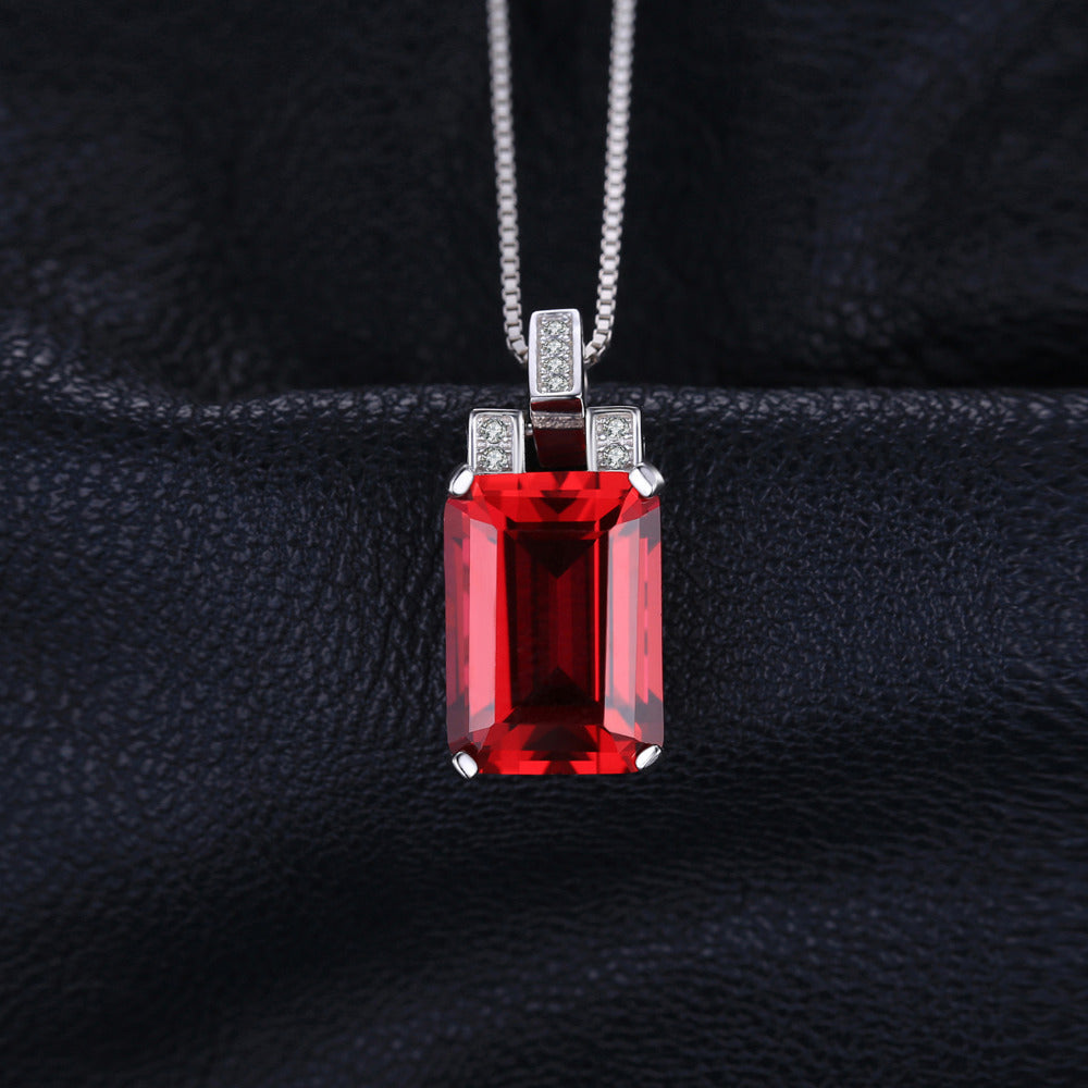 The Bespoke Pendant in Ruby