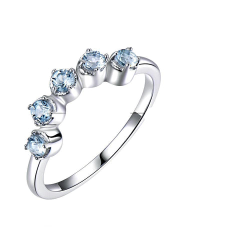 The Fifth Sense Ring in Topaz