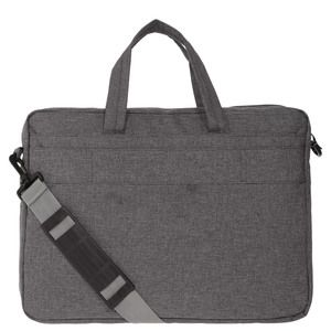 Maletin de laptop gris oxford