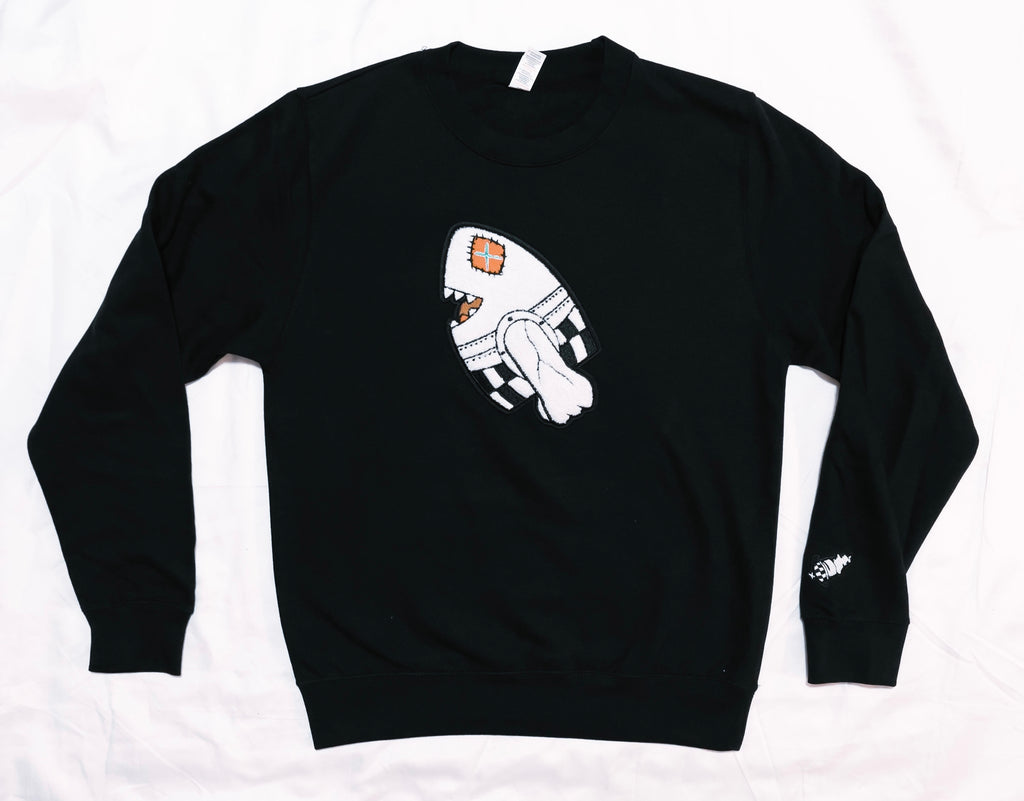 LEGAL BOMB Jet Black Crew Neck BUNDLE Package