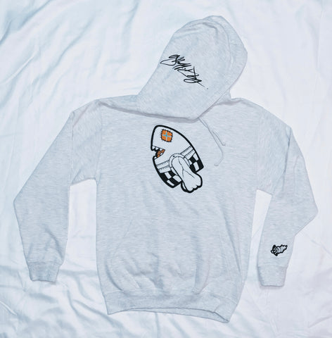 LEGAL BOMB Ash Grey Hoodie BUNDLE Package