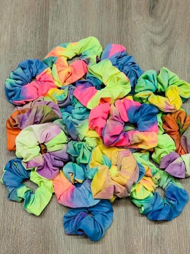 TieDye Scrunchies Set of 2