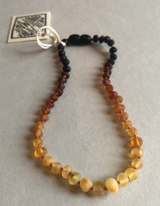 "11"" Raw Ombre Amber Necklace"
