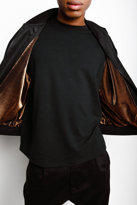 "BY ANY MEANS ""GOLD"" BOMBER JACKET - CHAPTER IV"