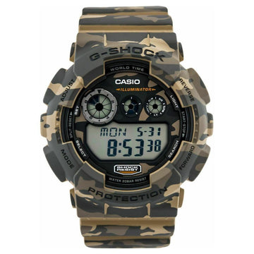 Brown And Green Camouflage Casio G-Shock Digital Watch GD120CM-5 men watch digital Watches-Direct-SA