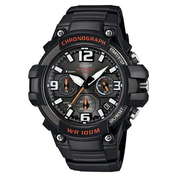 Casio Chronograph Heavy Duty Sports Watch MCW100H-1AV men watch analog Watches-Direct-SA