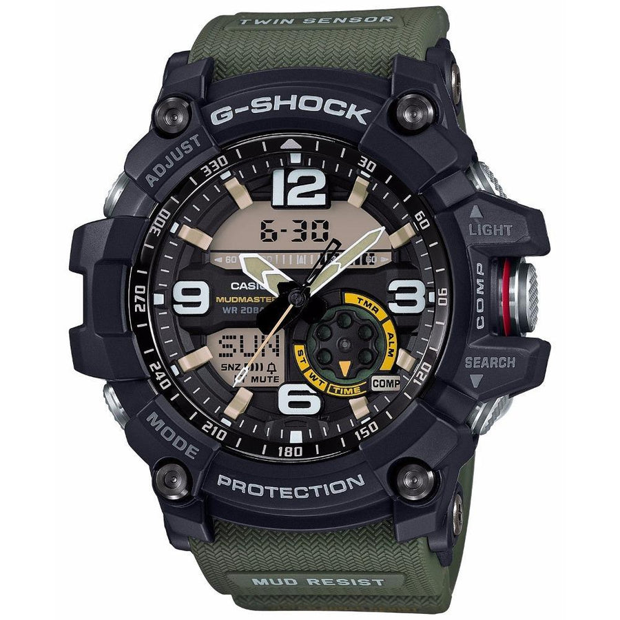 CASIO Master of G Digital Men's Watch men watch ana-digi Watches-Direct-SA
