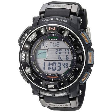 Casio Pathfinder Protrek Solar Atomic Watch PRW2500R-1C men watch digital Watches-Direct-SA