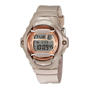 Champagne Pink Casio Baby-G Whale Series Watch BG169G-4 women watch digital Watches-Direct-SA