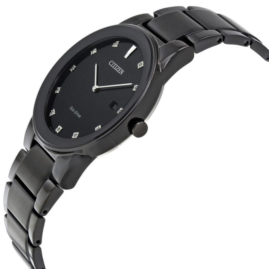 CITIZEN Axiom Black Dial Men's Watch women watch analog Watches-Direct-SA