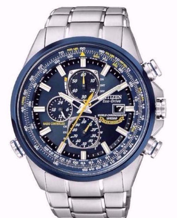 CITIZEN Eco Drive Blue Angels Chronograph Men's Watch men watch analog Watches-Direct-SA