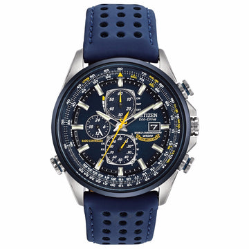 CITIZEN Eco Drive Blue Angels World Chronograph Men's Watch men watch analog Watches-Direct-SA